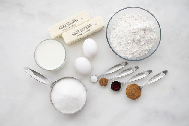 Cinnamon Sugar Muffin Ingredients
