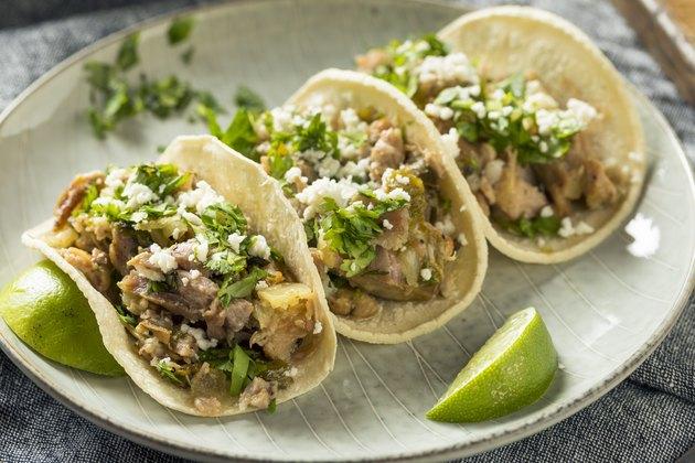 Homemade Pork Carnitas Tacos