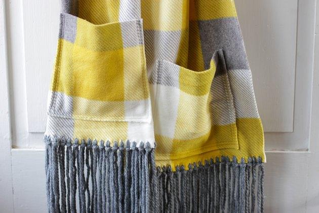 finished fleece pocket scarf