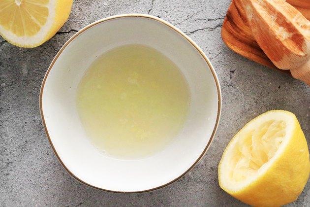 Squeeze the lemon