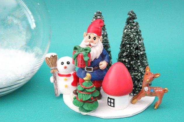 figurines for diy fishbowl snowman
