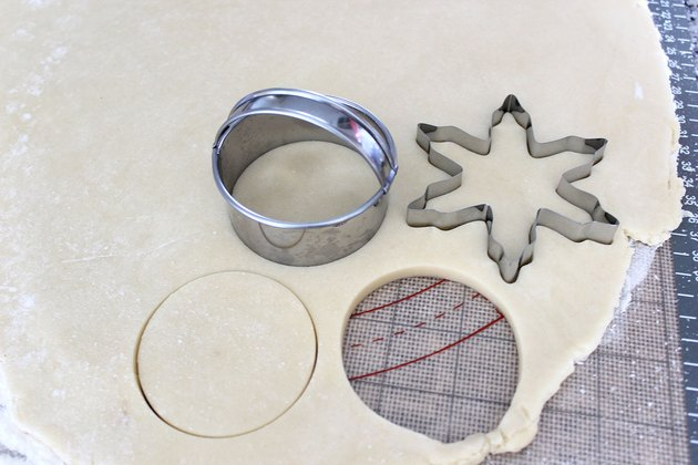 Large cookie-cutter shapes