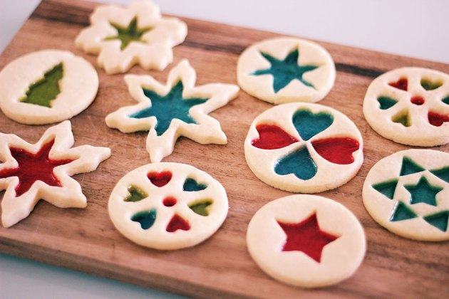 DIY stained-glass cookies