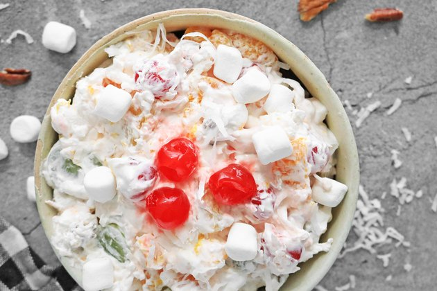 Traditional ambrosia salad recipe