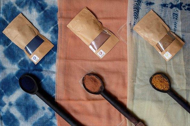 Honey Oak all natural tie dye kit