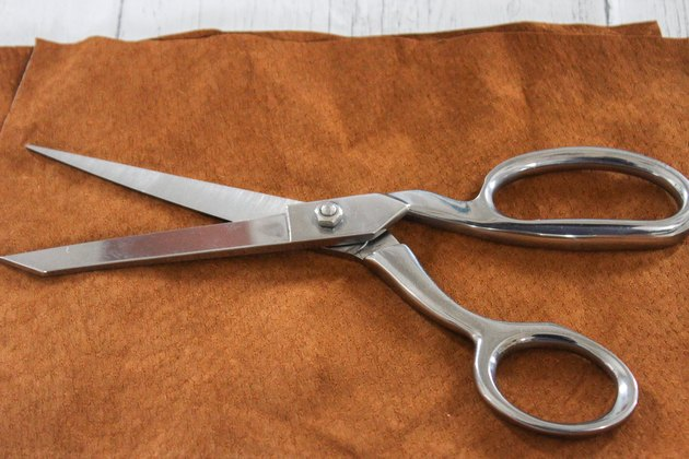 use a sharp pair of scissors