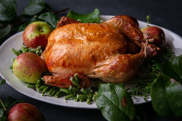 Apple Cider Roast Chicken Recipe