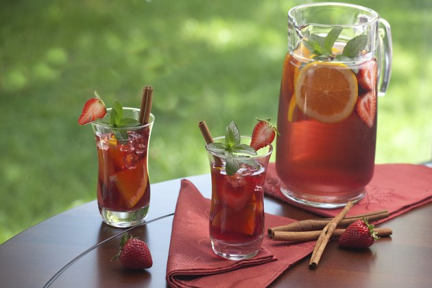 Refreshing sangria