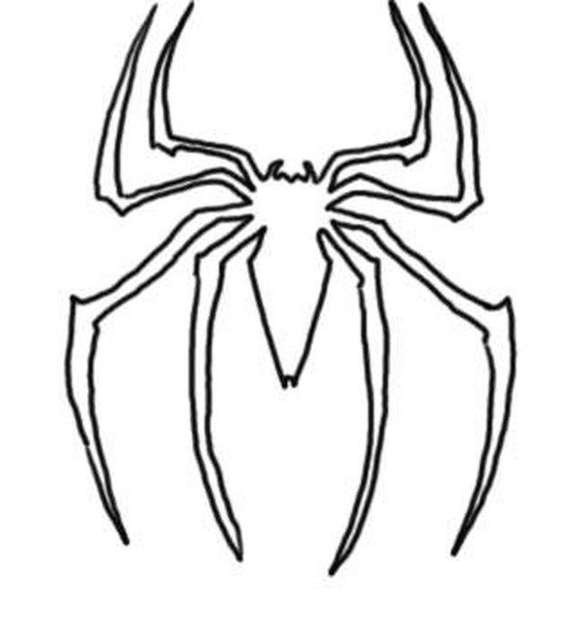 эмблема человека паука картинки карандашом так учитывать