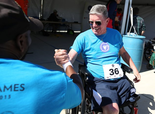 Wounded Vets Participate In Valor Games
