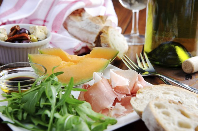 Antipasto platter for two
