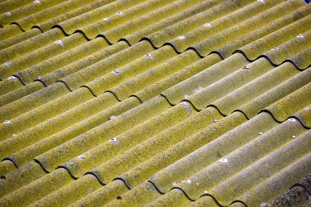 Corrugated metal surface