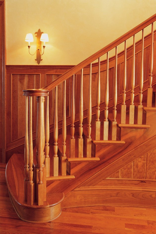 Bannister and staircase