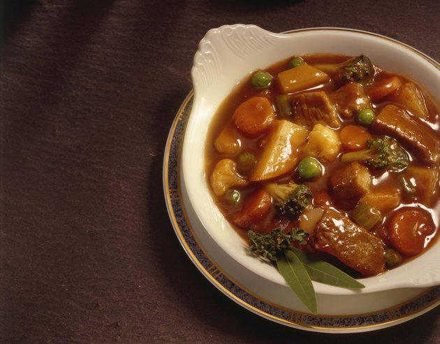 Vegetable beef stew