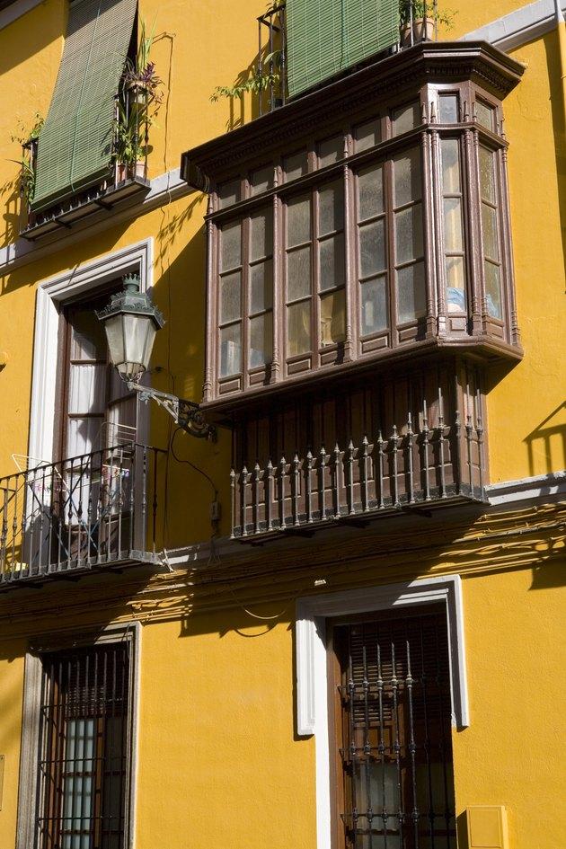 Buildings in Granada, Spain