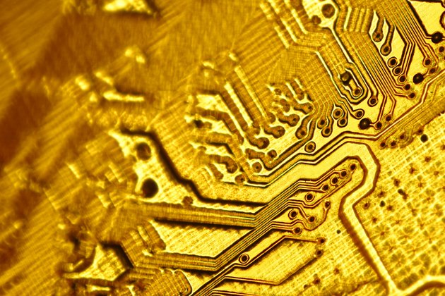 Close-up of circuitry