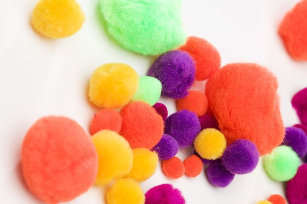 Craft cotton balls