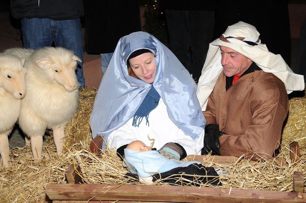 Michael Lohan Appears As Joseph At The 2nd Annual Nativity