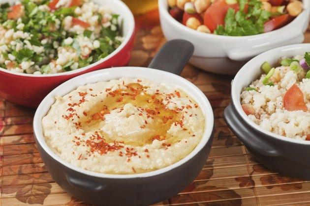 Hummus, chickpea dip