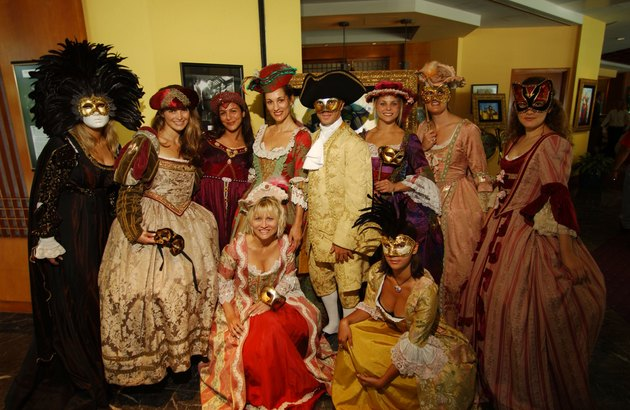 Sneek Peek Offered of Costumes to Appear at Venetian Ball
