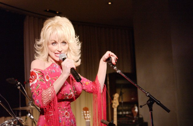 Dolly Parton At Tennessee Film & Music Commission Industry Party