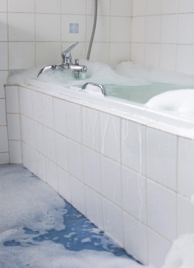 Overflowing bathtub