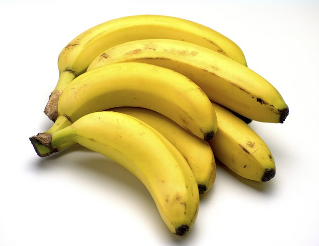 Fresh ripe bananas