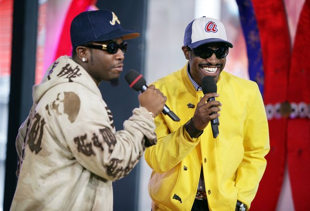 MTV TRL With Outkast