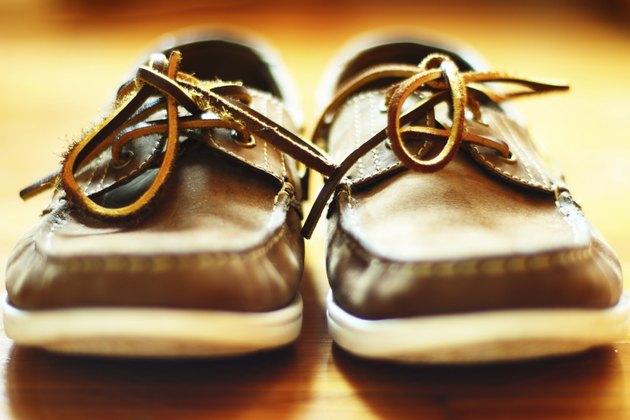 Suede Brown Deck Shoes