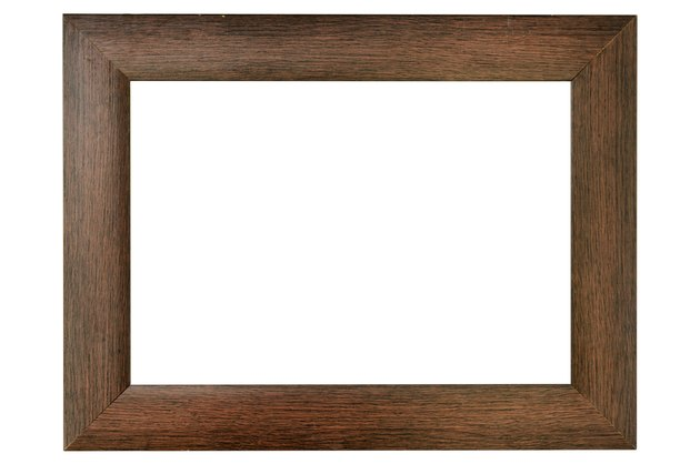 Simple wood frame