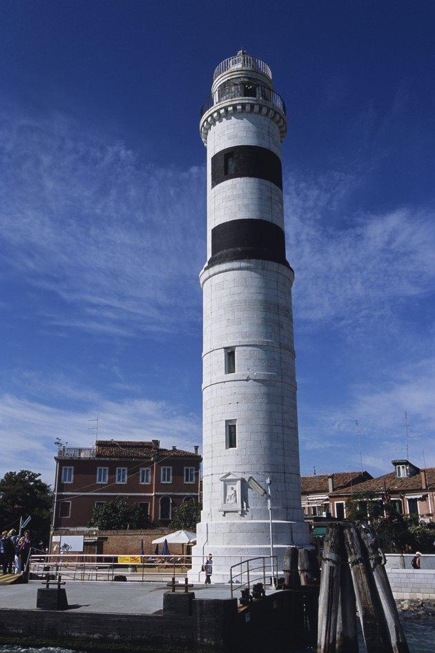 Lighthouse, Murano Island, Venice, Italy