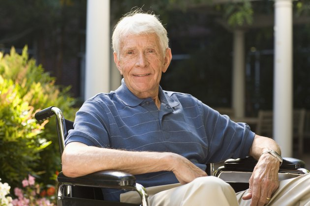 man in wheel chair