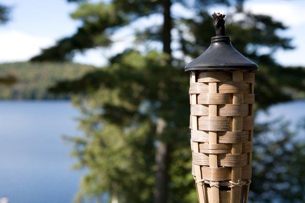Tiki torch outdoors
