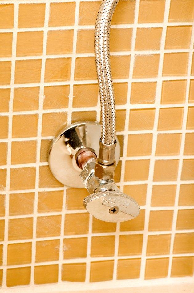 Bathroom water valve
