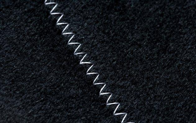Stitching on fabric