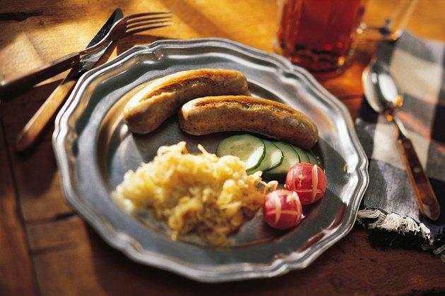 Bratwurst meal