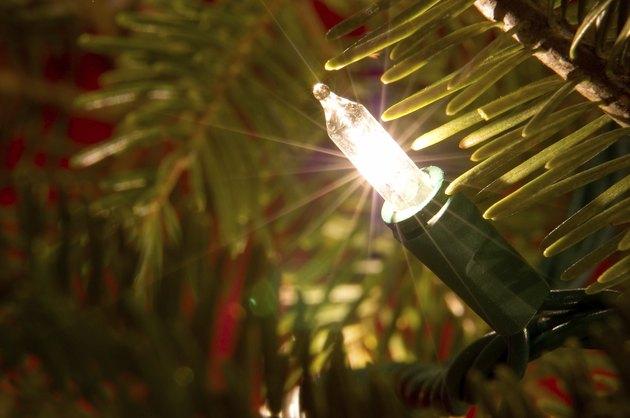 Mini Christmas Bulb Macro