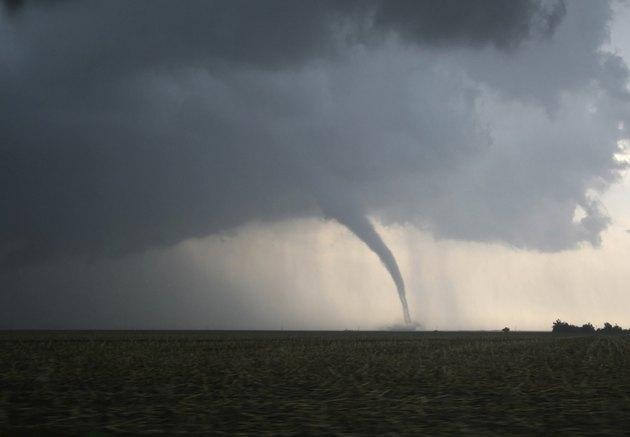 Dangerous Tornado on the Plains