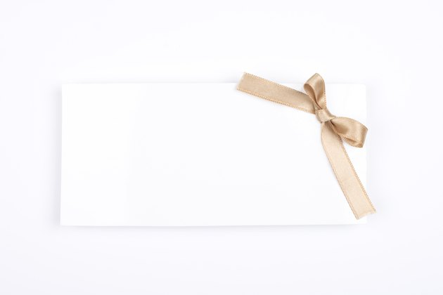 Greeting card (Clipping path)