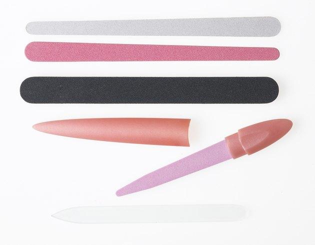 Coloured nail files