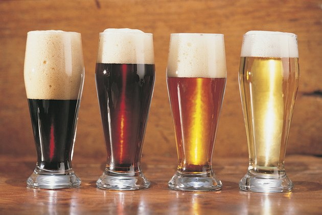 Assorted beers and ales