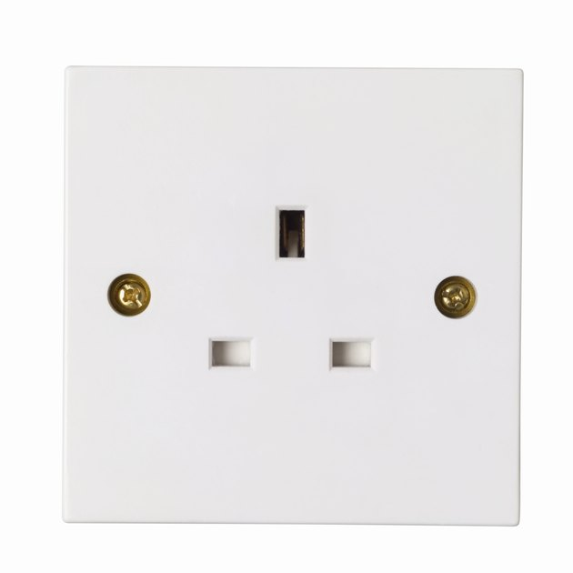 Close up view of a socket
