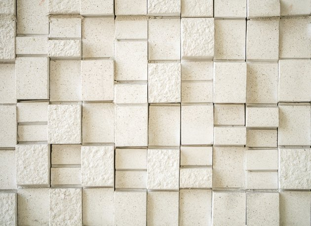 Artificial stone wall tile