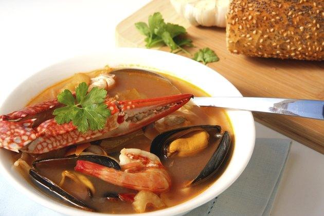 Seafood soup- ciopino