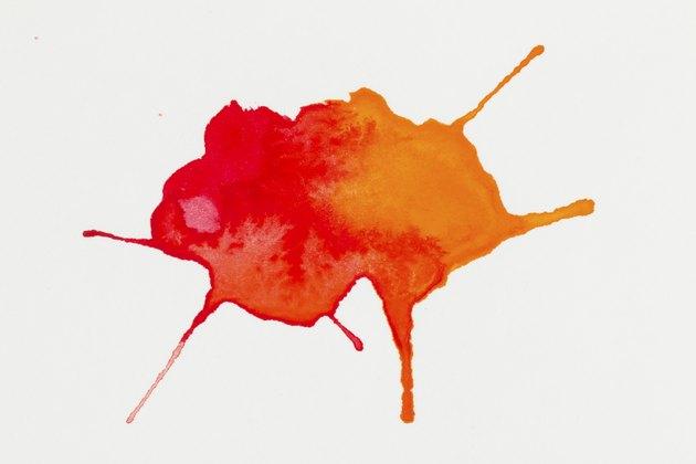 Watercolor blob.