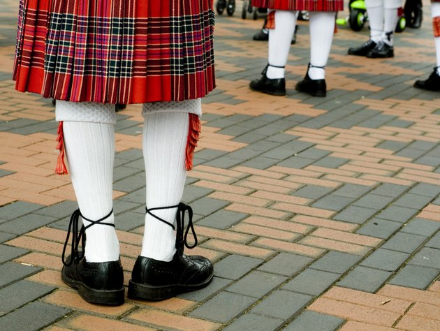 Traditional Scottish Highland Kilt
