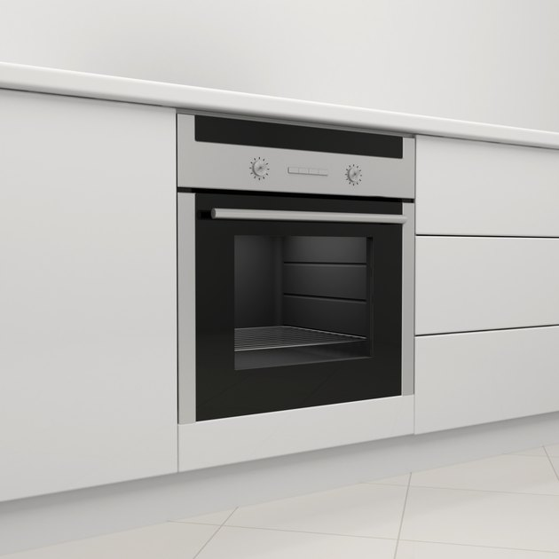 Electric stove and oven.