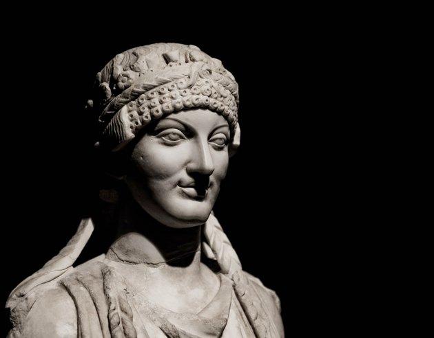 Etruscan sculpture.