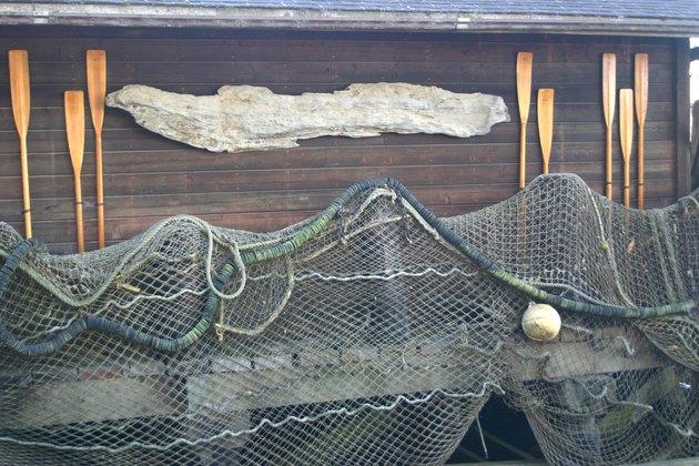 Fish Nets and Paddles
