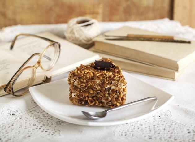 Hazelnut cake.